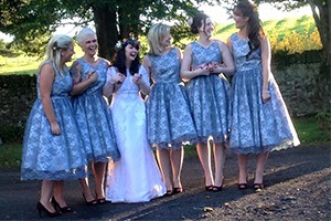 Made to measure bridesmaid dresses