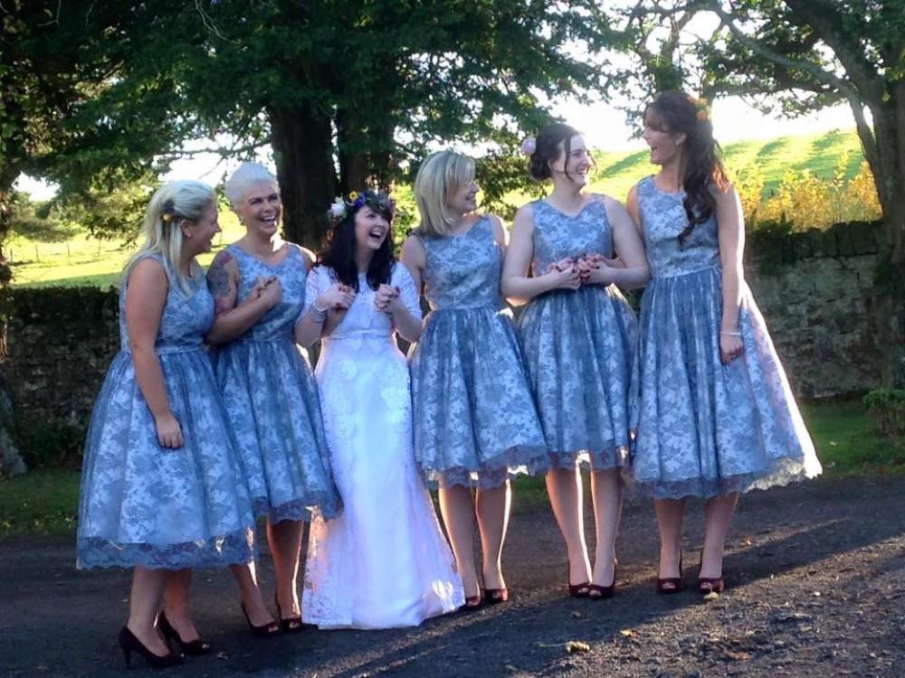 1960's Inspired Bridesmaid Dresses